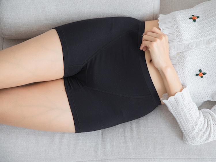 ナプキン14枚分の超吸水型ボクサータイプ「LAQREE(ラクリー) パンツ」、ジュニアサイズ含む7サイズを展開